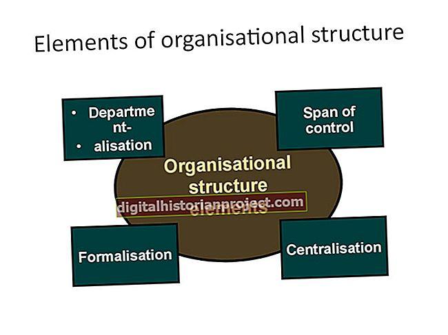 Seis elementos do design organizacional