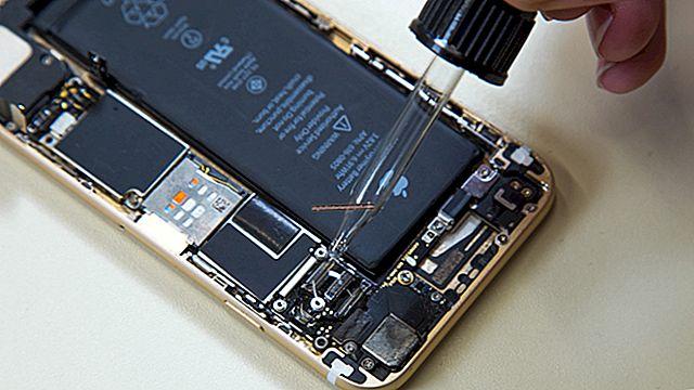 Como saber quando uma bateria de telefone celular está danificada por água