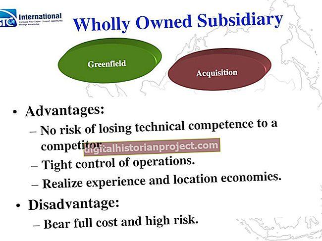 As vantagens e desvantagens de criar subsidiárias e empresas operacionais