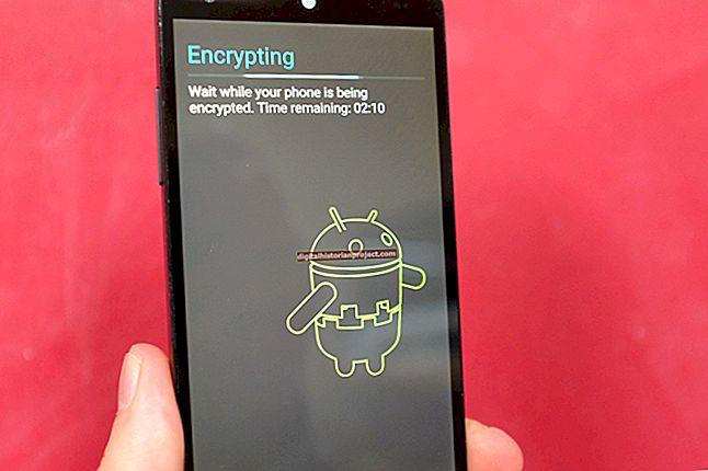 Chứng chỉ được mã hóa trên Android là gì?