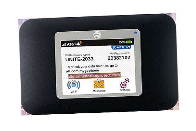 Como configurar um AT&T Aircard