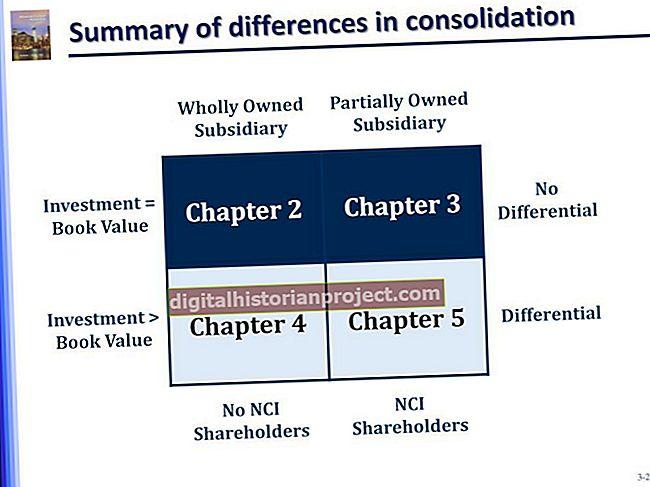 Diferenças entre subsidiárias integrais e divisões