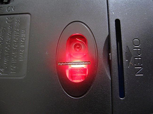 O laser do meu mouse não acende