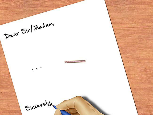 Kết thúc thích hợp cho một lá thư kinh doanh là gì?