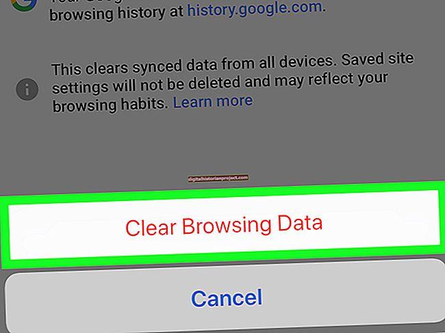 Cách xóa Chrome trên Trang chủ