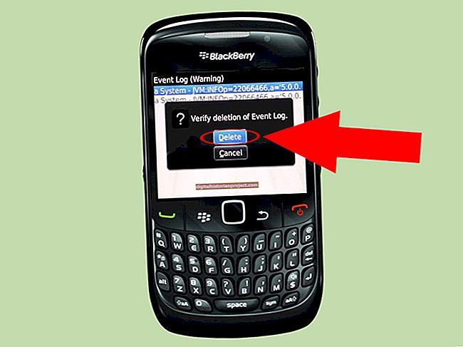 Cách đặt lại đường cong Blackberry