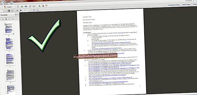 அக்ரோபேட் PDF ஐ உருவப்படம் அல்லது நிலப்பரப்புக்கு மாற்றுவது எப்படி