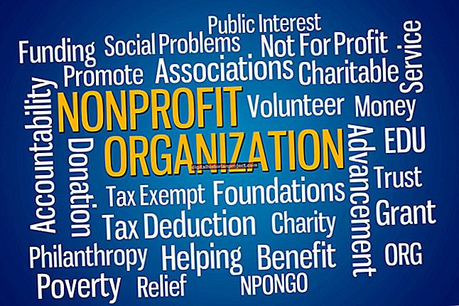 Qual é a definição de uma organização pública sem fins lucrativos vs. uma organização privada sem fins lucrativos?