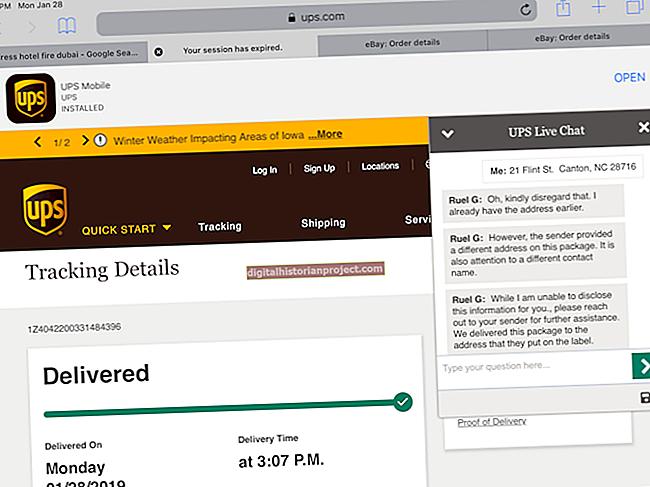 Como encontrar números de rastreamento por meio da UPS no PayPal